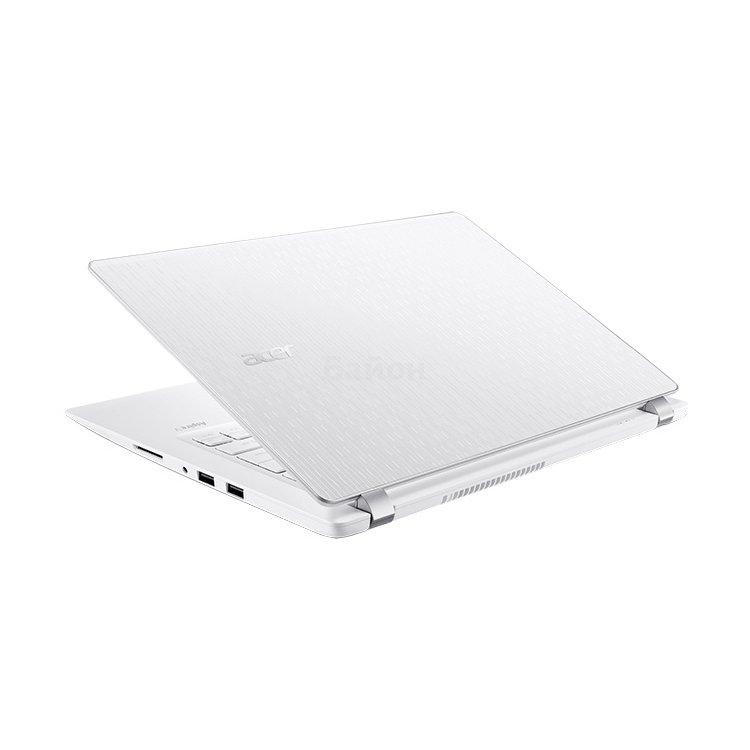 "Acer Aspire V3-372-539F 13.3"", Intel Core i5, 2300МГц, 6Гб RAM, DVD нет, 500Гб, Белый, Wi-Fi, Windows 10, Bluetooth13.3"", Intel Core i5, 2300МГц, 6Гб RAM, DVD нет, 500Гб, Белый, Wi-Fi, Windows 10, Bluetooth"