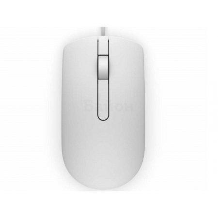 Dell MS116 Белый, USB