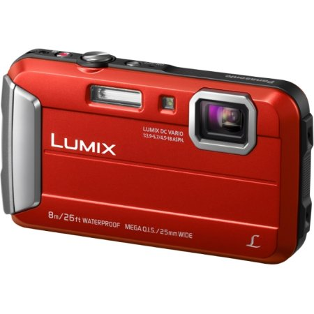 Panasonic Lumix DMC-FT30 Красный, 16.6