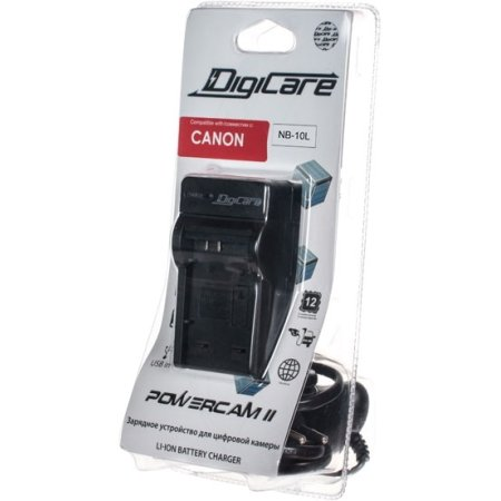Зарядное устройство Digicare Powercam II для Canon NB-10L