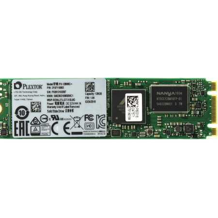 Plextor PX-128M6G+ M.2, 128Гб, M.2 SATA 6Gb/s