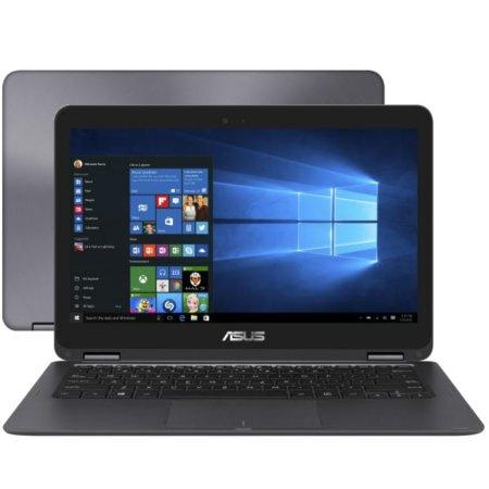 "ASUS Zenbook Flip UX360CA-C4112TS 13.3"", Intel Core M5, 2700МГц, 8Гб RAM, 256Гб, Серый, Wi-Fi, Windows 10, Bluetooth, DVD Нет"