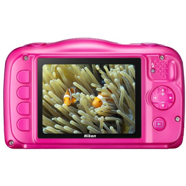 Nikon CoolPix W100 Розовый, 13.2 VQA012K001