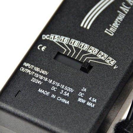 Power Supply:  Slim  90W AC Adaptor (Kit)