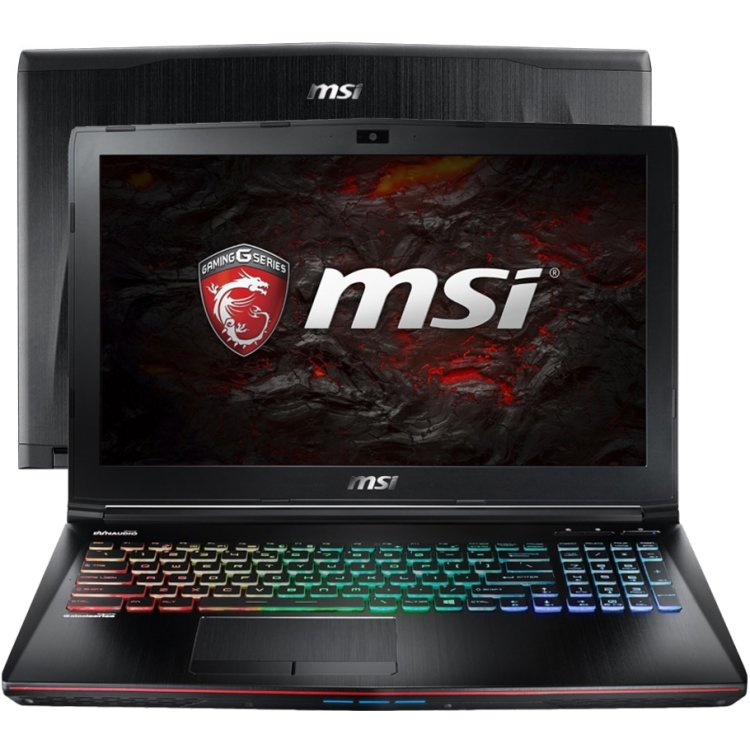 "MSI GE62VR 6RF-261RU 15.6"", Intel Core i7, 2600МГц, 16Гб RAM, DVD-RW, 1256Гб, Wi-Fi, Windows 10, Bluetooth"