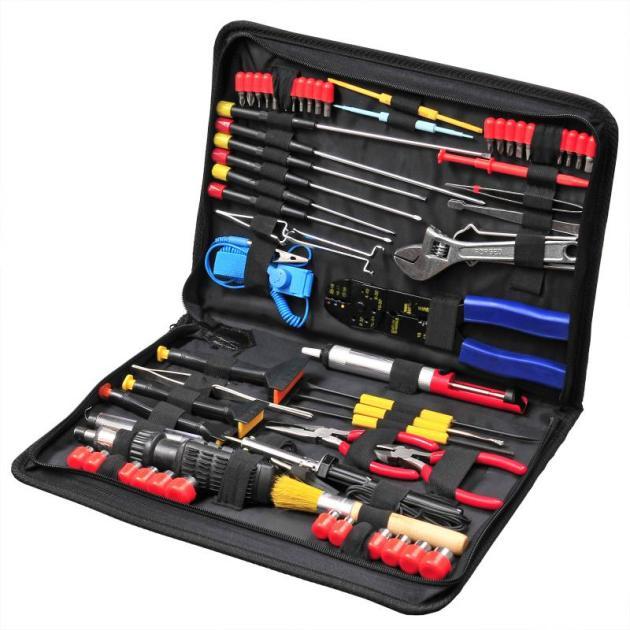 Набор инструментов Buro TC-1118 67 предметов (жесткий кейс)