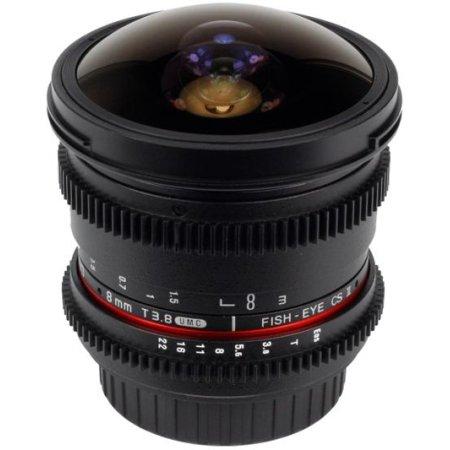 SAMYANG MF 8mm T3.8 AS IF UMC Fish-eye CS II VDSLR Sony E «Рыбий глаз», Sony E