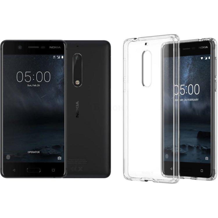 Nokia 5  + Подарок чехол Nokia 5 Hybrid Crystal Case