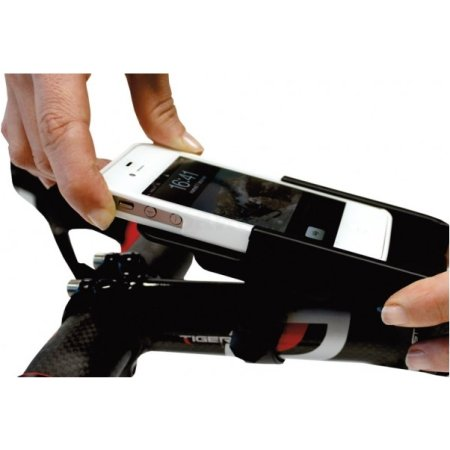 "Tetrax XBIKE для IPhone 4/4S, 5/5S Черный, 4"""