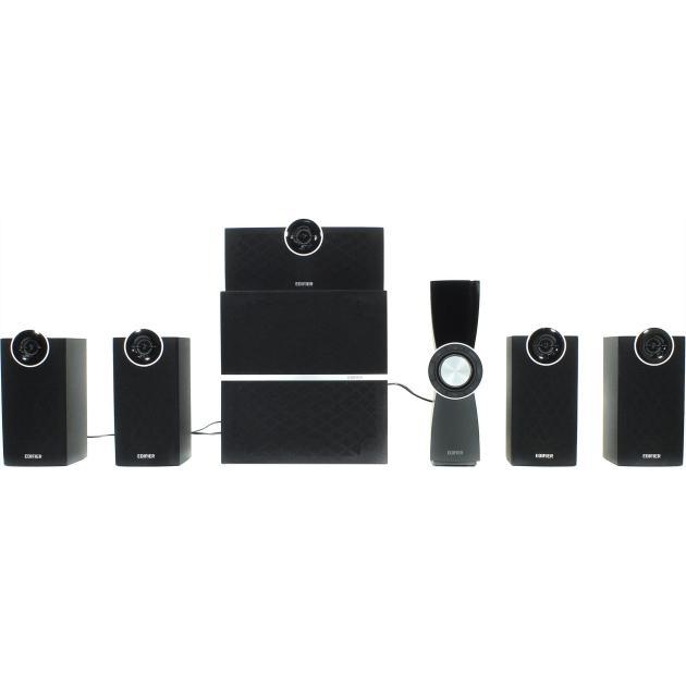 Edifier C6XD Черный, mini jack, MDF C6XD Black