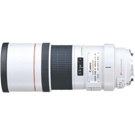 Canon EF 300mm f/4L IS USM Телеобъектив, Canon EF, Совместимость с полнокадровыми фотоаппаратами