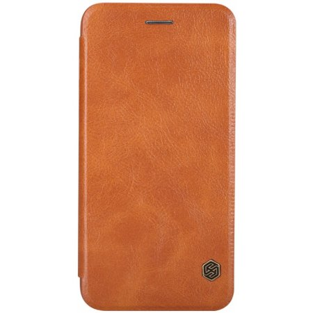 Apple iPhone 6 Plus/6S Plus Nillkin Qin leather case для iPhone 6 Plus/6S Plus чехол-книжка, кожа, Коричневый