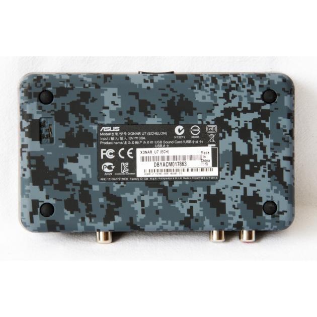 Asus USB Xonar U7 Echelon Edition USB, 7.1 от Байон