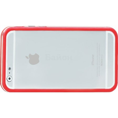 Накладка для iPhone 6 Promate Bump-i6 красн.