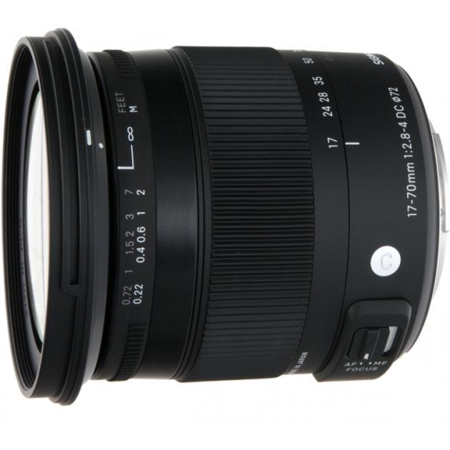 Sigma AF 17-70mm f/2.8-4.0 DC MACRO OS HSM new Contemporary Sigma SA байонет Sony A