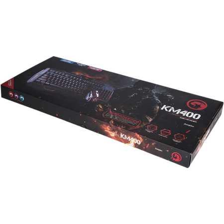 MARVO KM400 USB Combo USB, Черный