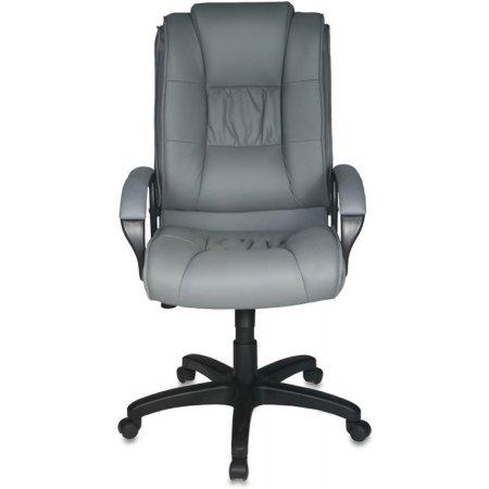 Кресло руководителя Бюрократ CH-992/F11 серый F11 искусственный нубук