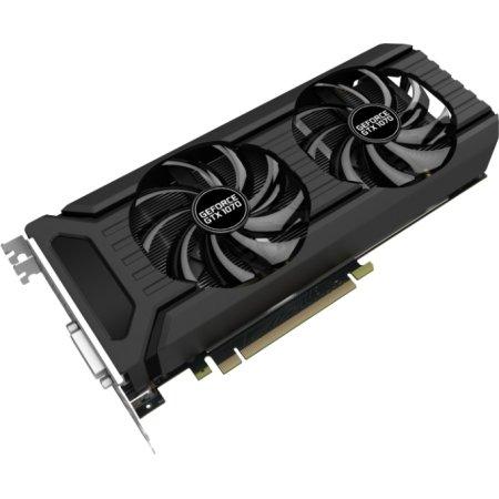 Palit GeForce GTX 1070 Dual 6144M, GDDR5, 1506MHz , PCI-Ex16 3.0