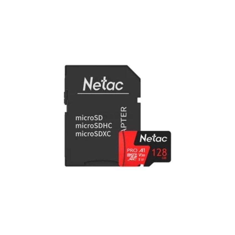 Netac MicroSDHC Memory Card P500 Extreme Pro 128GB