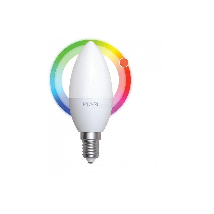 Умная цветная лампа Elari Smart LED color цоколь E14
