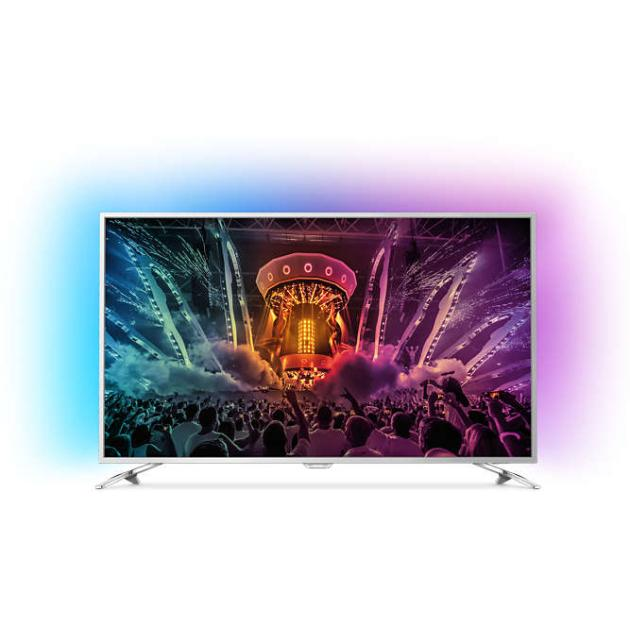 "Philips 65PUS6521 65"", Серебристый, 3840x2160, Wi-Fi, Вход HDMI"