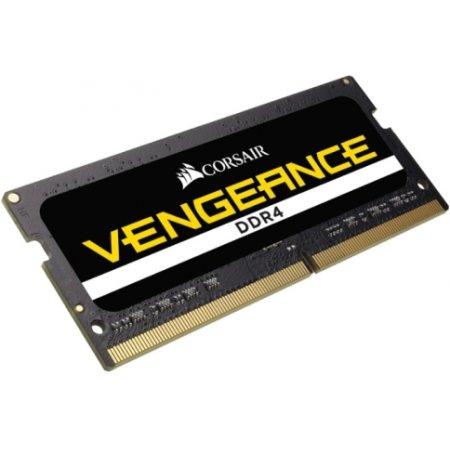 Corsair Vengeance CMSX64GX4M4A2400C16 DDR4, 64Гб, PC4-19200, 2400, SO-DIMM