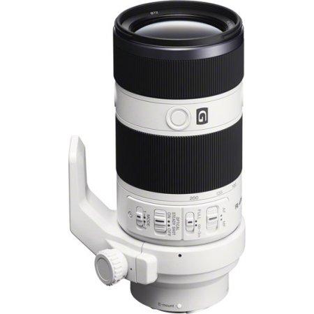Sony SEL70200G Телеобъектив, Sony E, Совместимость с полнокадровыми фотоаппаратами