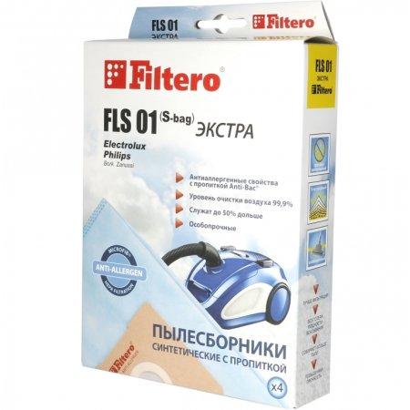 Пылесборники Filtero FLS 01 Эконом (4пылесбор.)