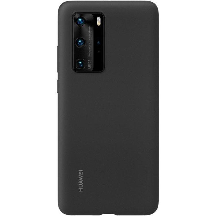 Чехол для Huawei P40 PRO Silicone Black