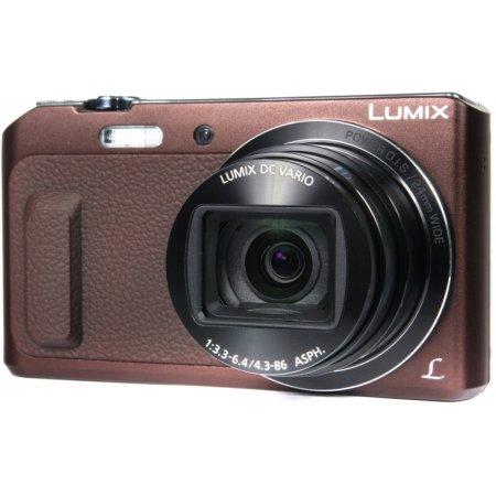 Panasonic Lumix DMC-TZ57 Коричневый, 16