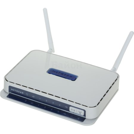 NetGear JNR3210-100RUS Белый, 300Мбит/с, 2.4