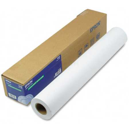 "Epson Fine Art Paper Hot Press Bright 60"" Фотобумага, Рулон, -, 15м, матовая"