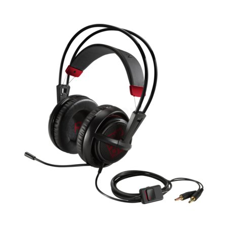 HP Omen Headset with Steelseries Черный