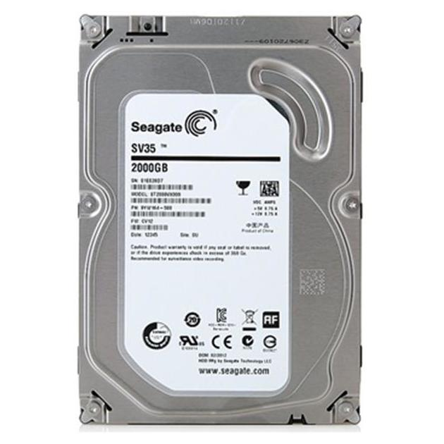 "Жесткий диск Seagate ST2000VX000 2000Гб, 600 Мб/с, 3.5"" HDD"