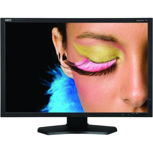NEC SpectraView 232 23, Черный, DVI, HDMI, Full HDКомпьютерные мониторы<br>Full HD, Разрешение экрана 1920x1080 Пикс., HDMI, DVI, Тип матрицы TFT IPS...<br><br>Артикул: 1289336<br>Тип матрицы: TFT IPS<br>Производитель: NEC<br>Цвет товара: Черный<br>Специальные предложения: Новинка<br>Диагональ экрана: 23  (58.4 см)<br>Разрешение экрана: 1920x1080 Пикс.<br>3D совместимость: Нет<br>Full HD: Да<br>Встроенный TV-тюнер: Нет<br>HDMI: Да<br>DVI: Да