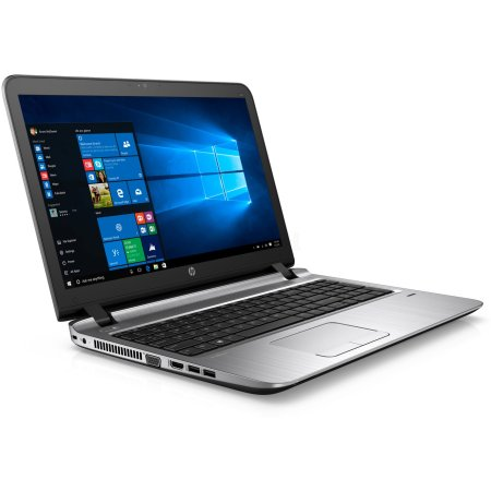 "HP ProBook 450 G3 W4P40EA 15.6"", Intel Core i3, 2300МГц, 4Гб RAM, DVD-RW, 500Гб, Черный, DOS, Wi-Fi, Bluetooth"