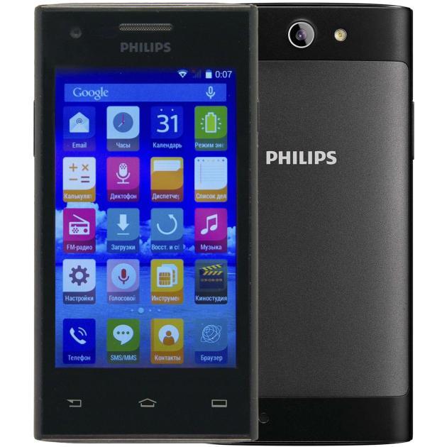 Philips S309 4Гб, Черный