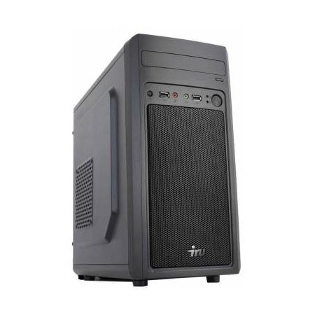 IRU Office 110 MT Intel Celeron, 2410МГц, 4Гб, 500Гб, DOS, Черный