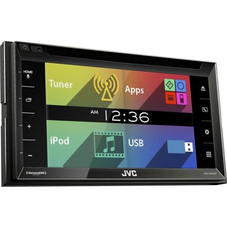 JVC KW-V320BT 2 DIN, разноцветная