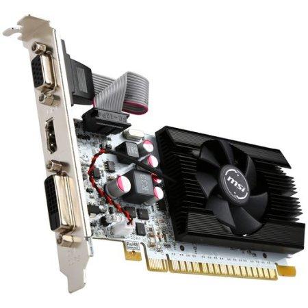 MSI N730K-1GD5LP/OCV1 PCI-E 16x 2.0, 1024Мб, GDDR5