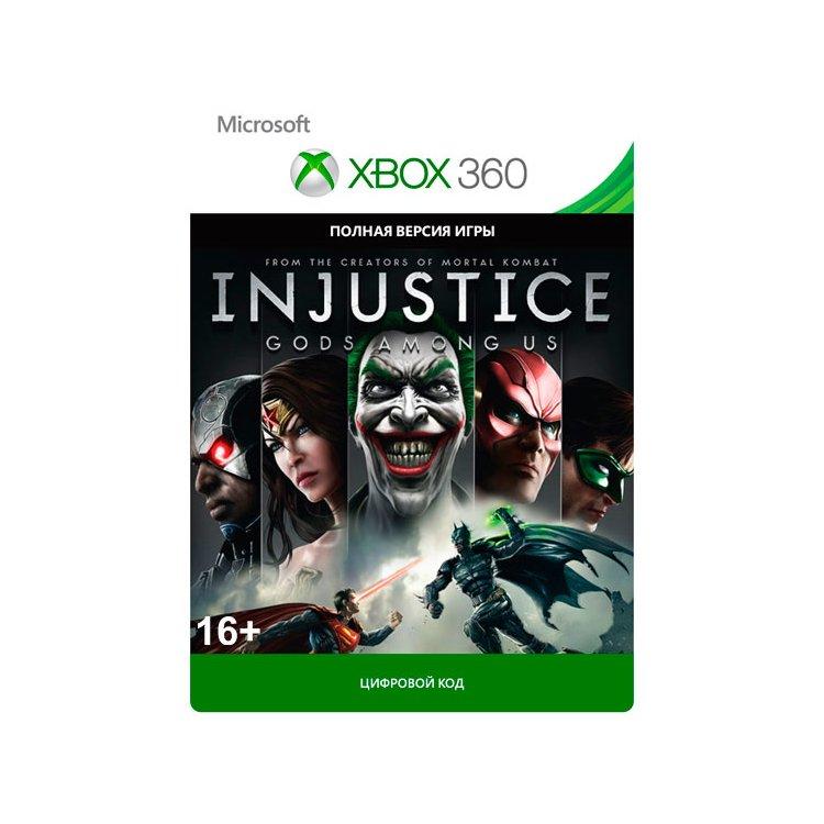 Injustice: Gods Among Us Xbox 360, электронный ключ