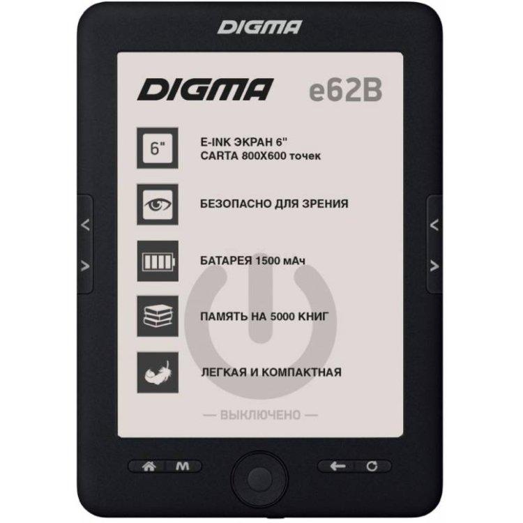 "Digma e62B E-Ink, 6"""