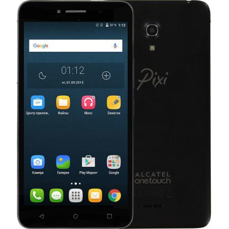 Alcatel OneTouch Pixi 4 8050D Черный