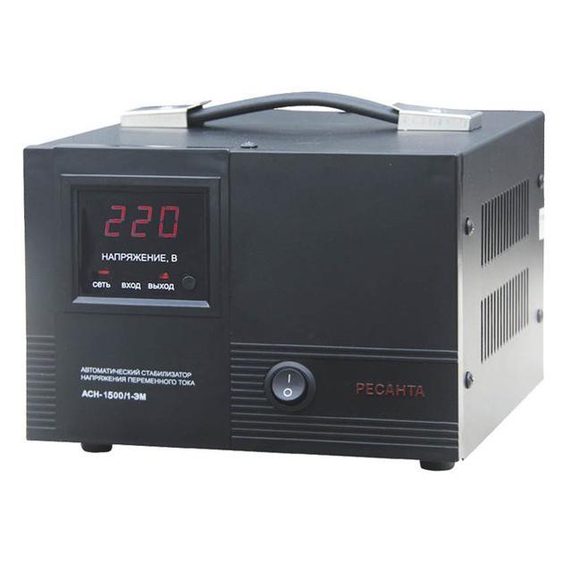 Ресанта АСН-1500/1-ЭМ однофазный, 1500ВА
