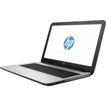 "HP 15-ay072ur 15.6"", Intel Core i3, 2000МГц, 12Гб RAM, DVD-RW, 1Тб, Windows 10, Серебристый, Wi-Fi, Bluetooth"