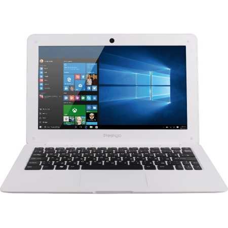 "Prestigio Smartbook 116A03 11.6"", Intel Atom, 1330МГц, 2Гб RAM, DVD нет, 32Гб, Белый, Wi-Fi, Windows 10, Bluetooth"