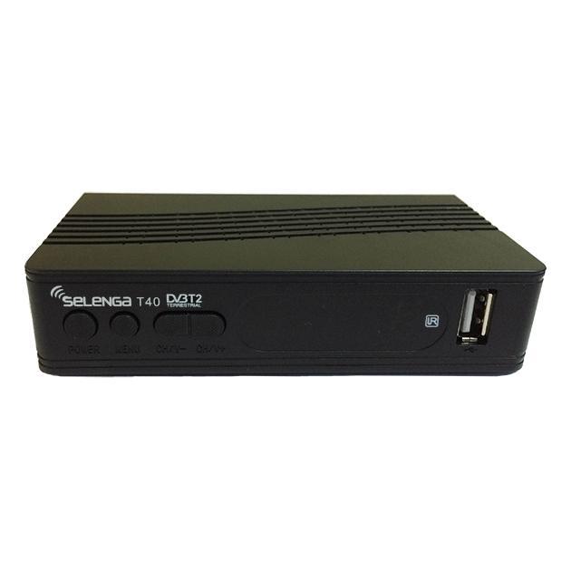 Ресивер DVB-T2 Selenga T40