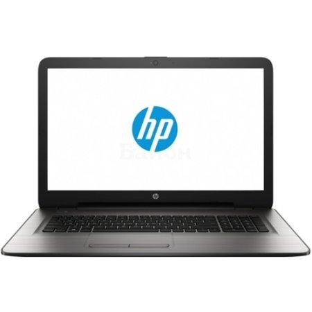 """HP 17-x010ur 17.3"""", Intel Core i3, 2МГц, 4Гб RAM, 1Тб, DVD-RW, Серебристый, Wi-Fi, Windows 10 Домашняя, Bluetooth"""