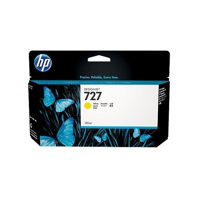 HP Inc. Cartridge HP 727 желтый для HP DJ T920/T1500  130 мл