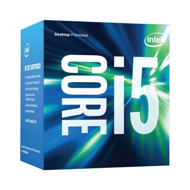 6th Generation Intel® Core™ i5 Processors 4 ядра, 3300МГц, Box